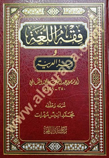 Picture of فقه اللغة وسر العربية